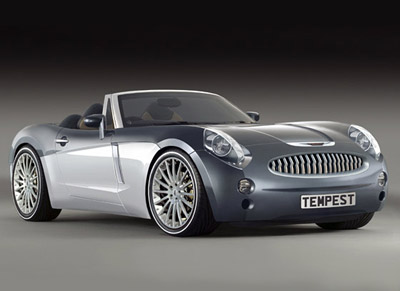 2005 Austin Healey 3000 inspired 'Project Tempest' concept car