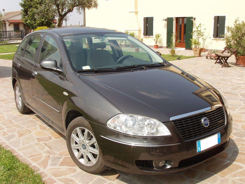 2005 Fiat Croma prima del Restyling