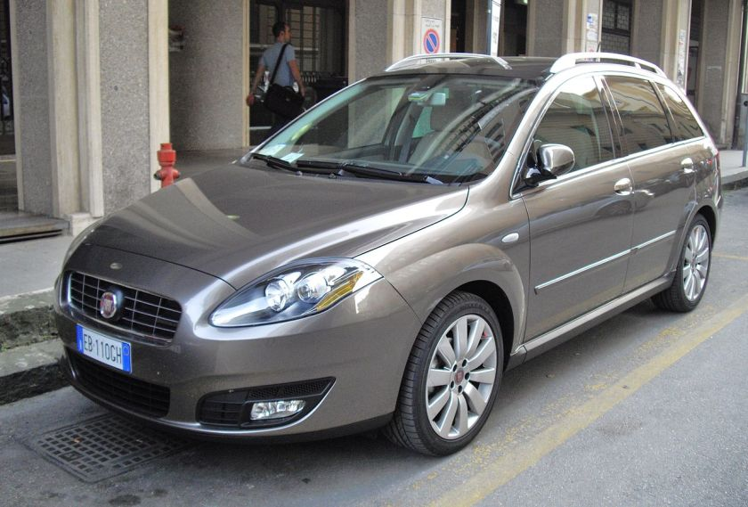 2007 facelifted Fiat Croma