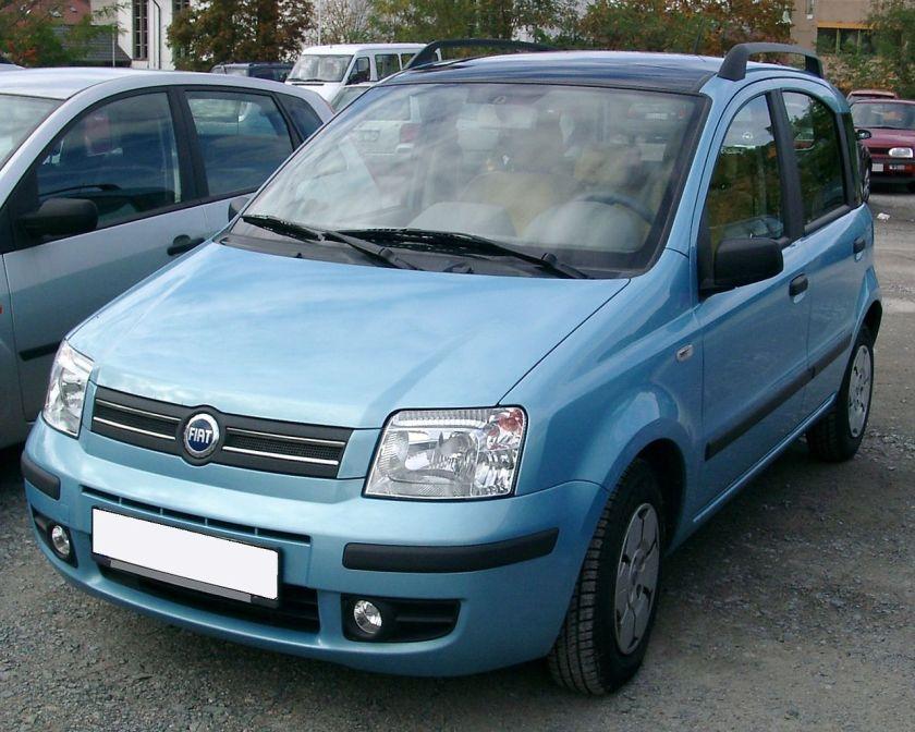 2007 Fiat Panda front