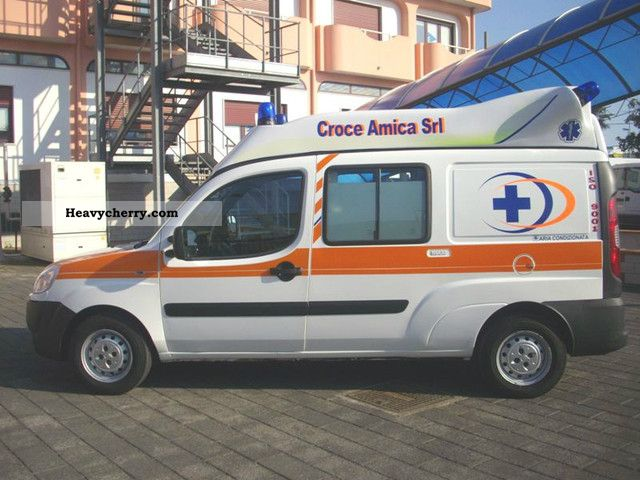 2008 Fiat DOBLO '1.3mjt-Ambulance