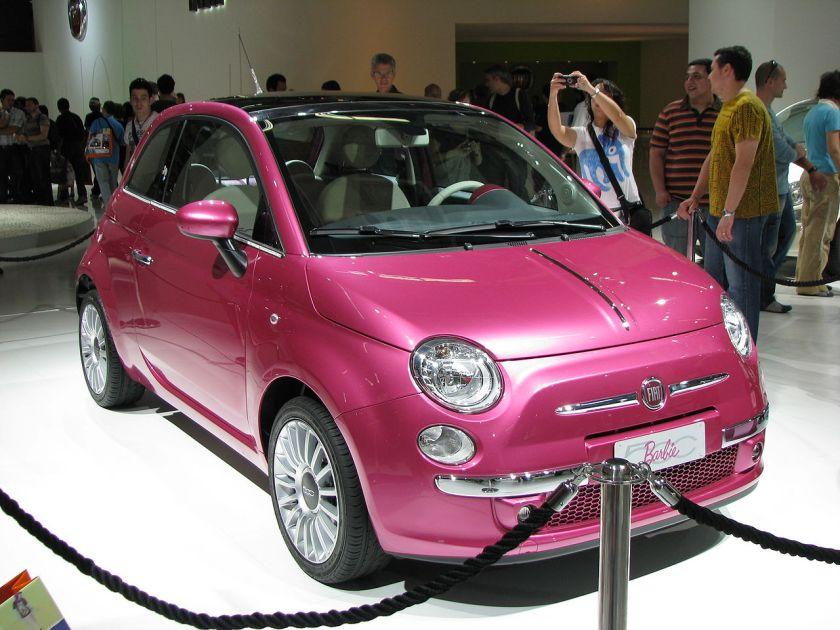 2009 Fiat Barbie 500 at 2009 Barcelona motorshow