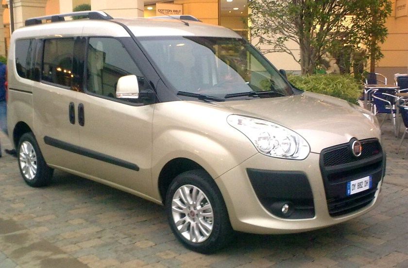 2009 Fiat Doblò Mk2 built in Bursa, Turkey