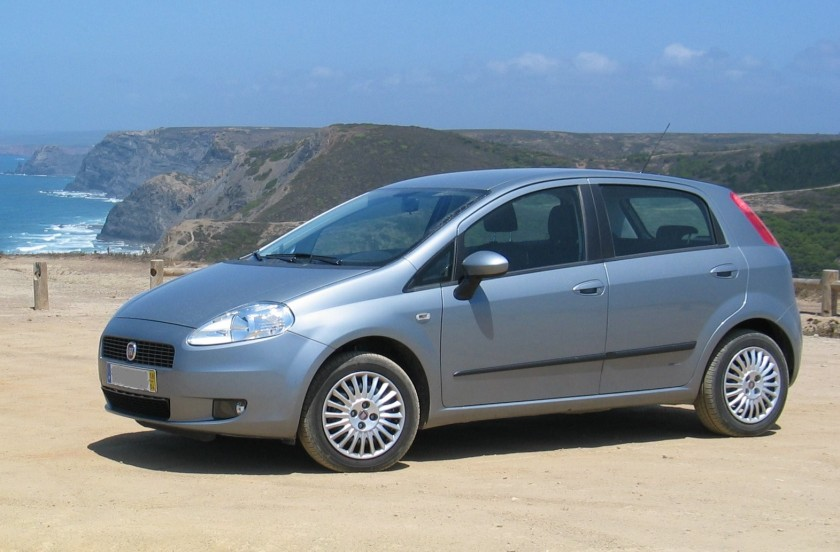 2009 Fiat Grande Punto 5-door version