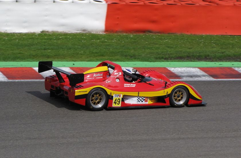 2009 Radical SR3 in Spa