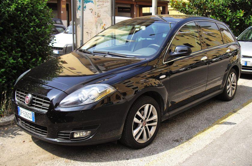 2010 Fiat Croma facelift