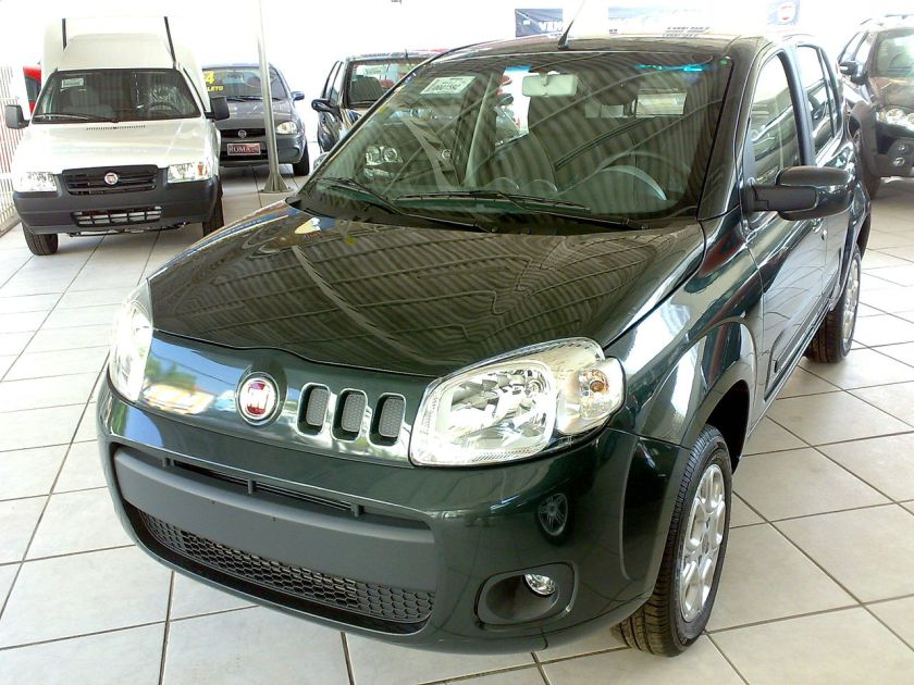 2010 Fiat Uno, specifically developed for Brazilian market