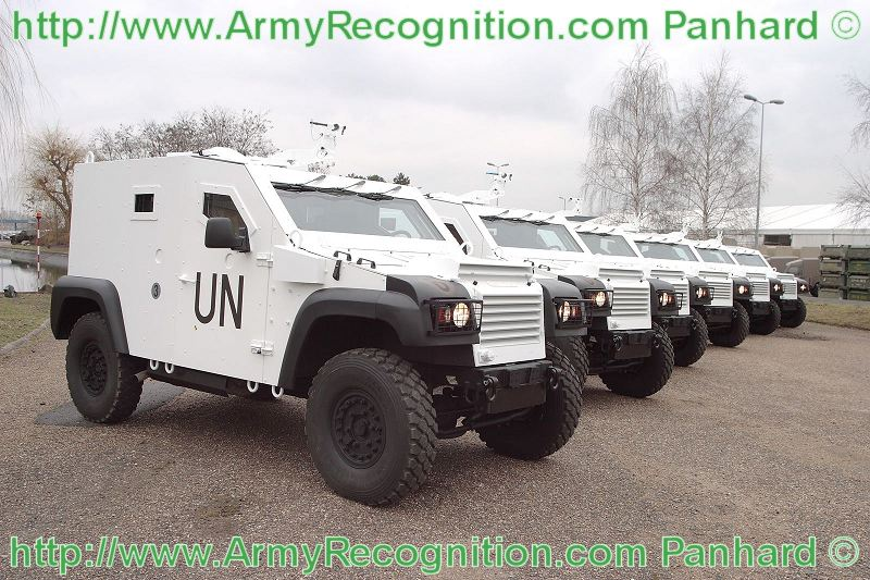 2010 Panhard has delivered 80 TC54 trucks and six PVP wheeled armoured vehicles to Togo's Armed Forces .