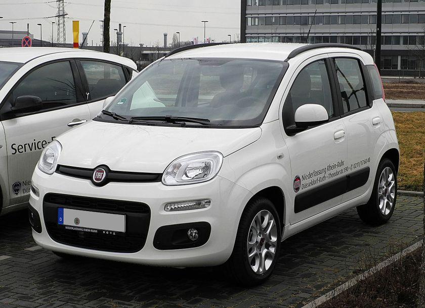 2012 Fiat Panda 1,2