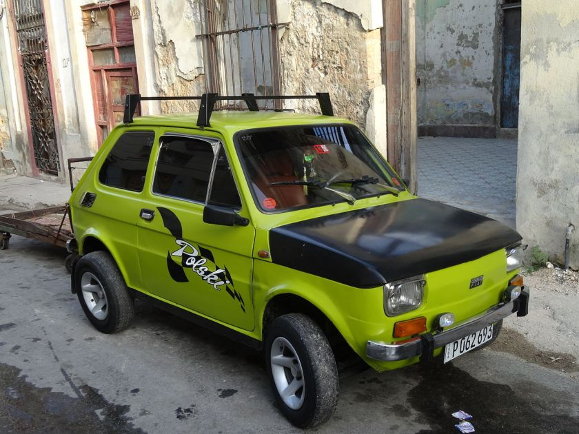 2014 Fiat 126p in Havana, Cuba