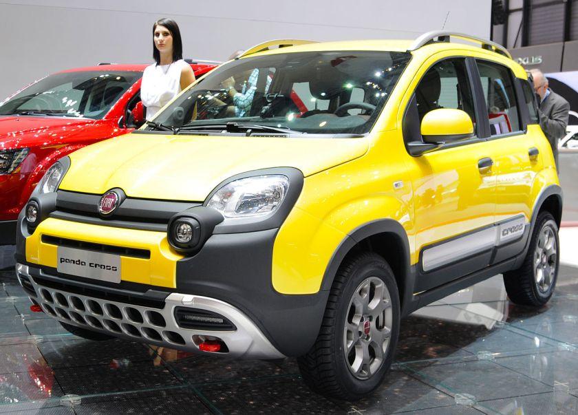 2014 Fiat Panda Cross.