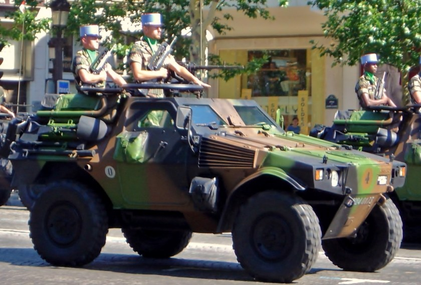 A VBL of the French Army