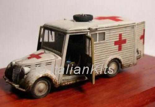 Ambulance Fiat 1100 ambulanza Viberti Einheits larger