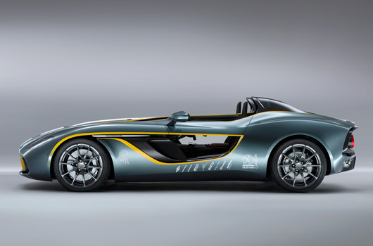 Aston Martin's radical CC100 Speedster Concept breaks cover
