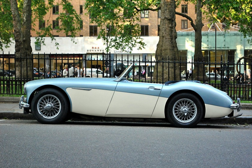 Austin-Healey 3000 Mk1 in London