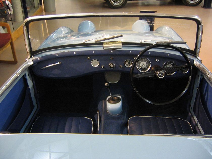 Austin Healey Frogeye sprite mark one interior