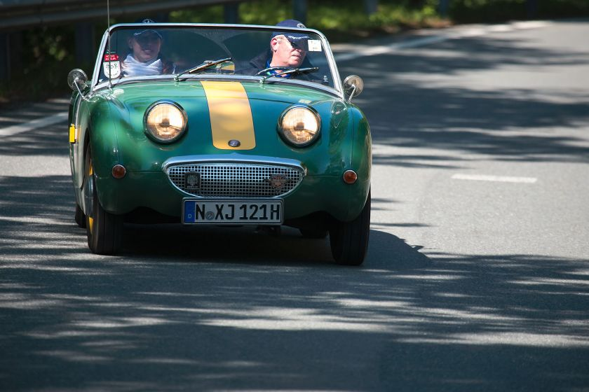 Austin-Healey Sprite at Gaisbergrennen 2009