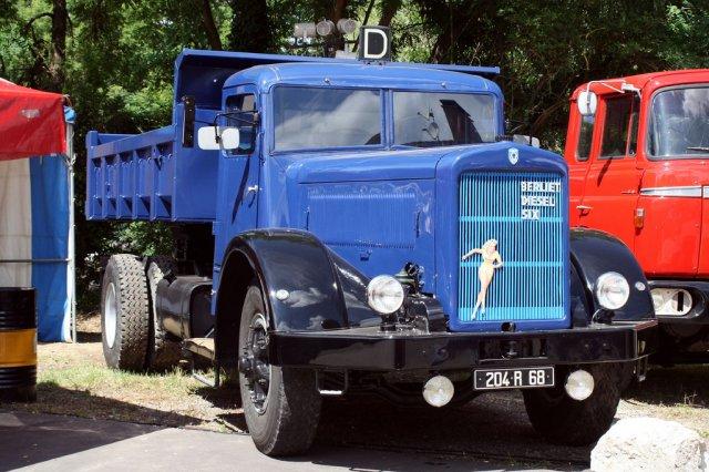 BERLIET GDM 10 W 6 cyl, 135 cv.