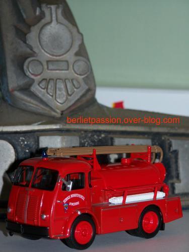 Berliet GLA 19A Pompiers