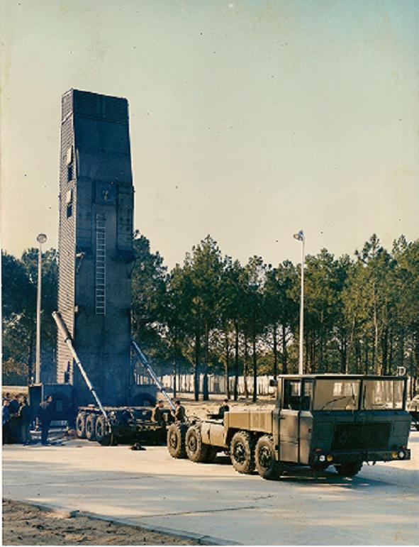 Berliet Nuclear Missile Launcher