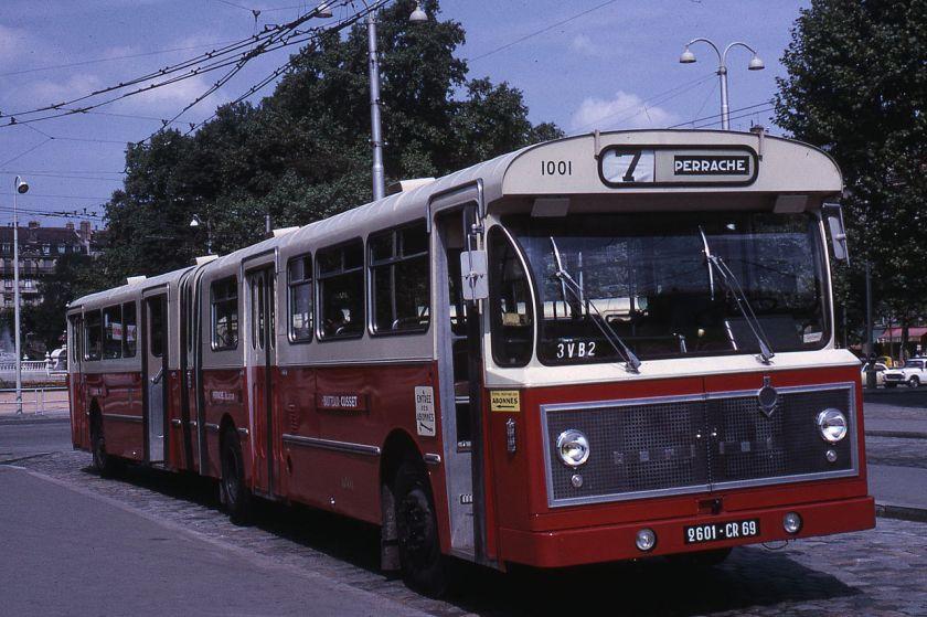 Berliet PH 12-180 à Lyon en 1967