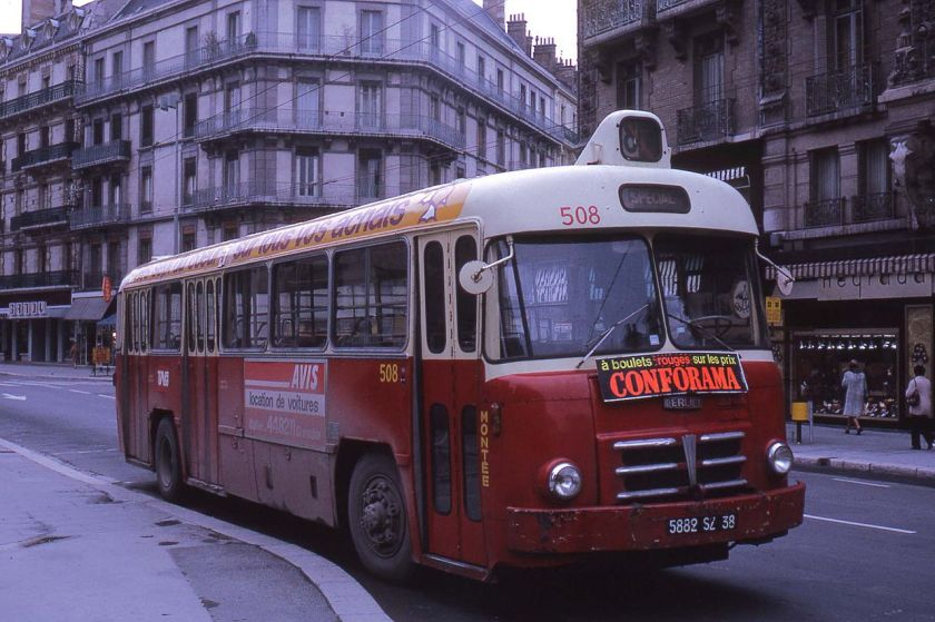 Berliet PLR-C de Grenoble in 1975