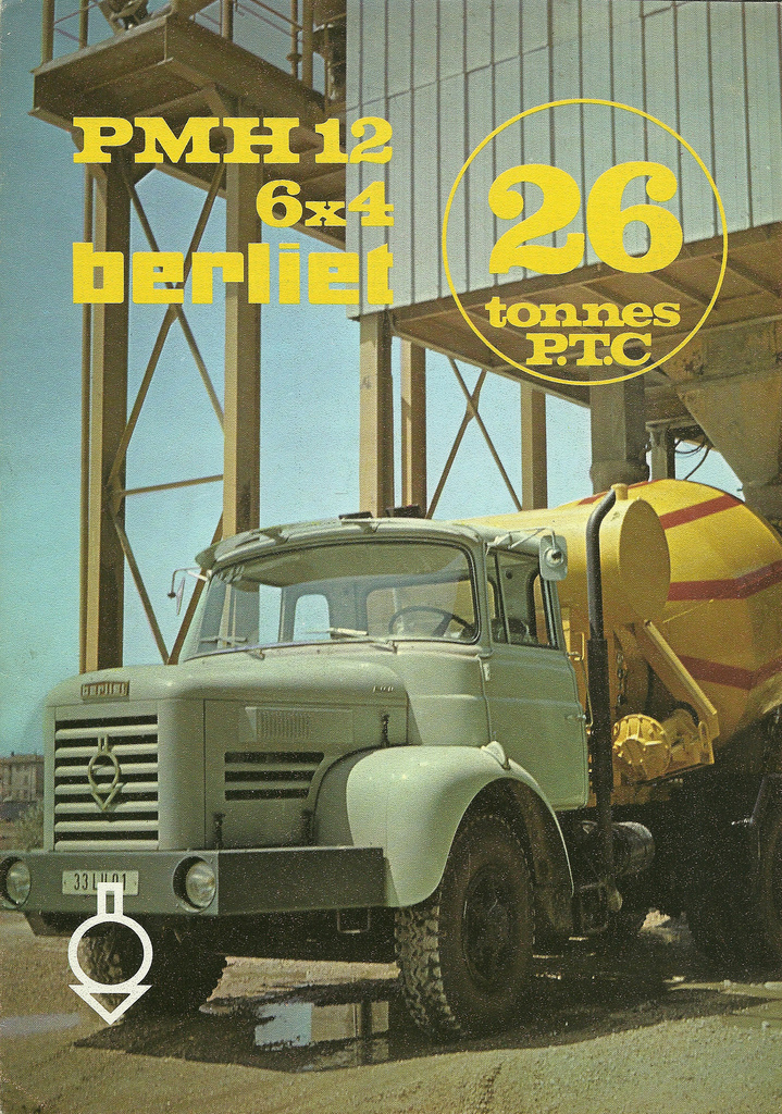 Berliet PMH 12 6x4