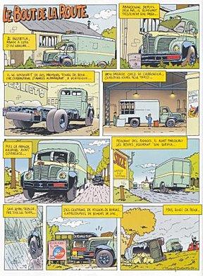 Berliet Strip L'histoire d'un Berliet en BD