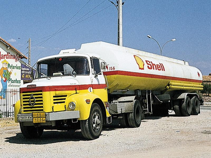BERLIET Tankwagen