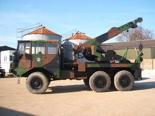Berliet TBU 15 militaire d'pannage
