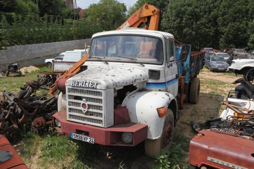 Berliet truck a