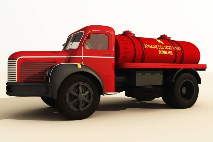 Berliet wine tank truck