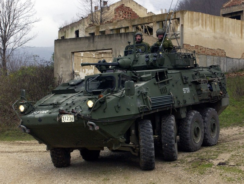 Canadian Forces LAV III
