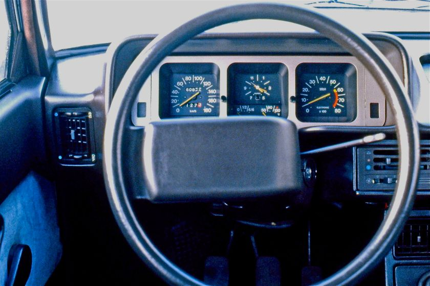 Dashboard Fiat 131 2nd series mirafiori