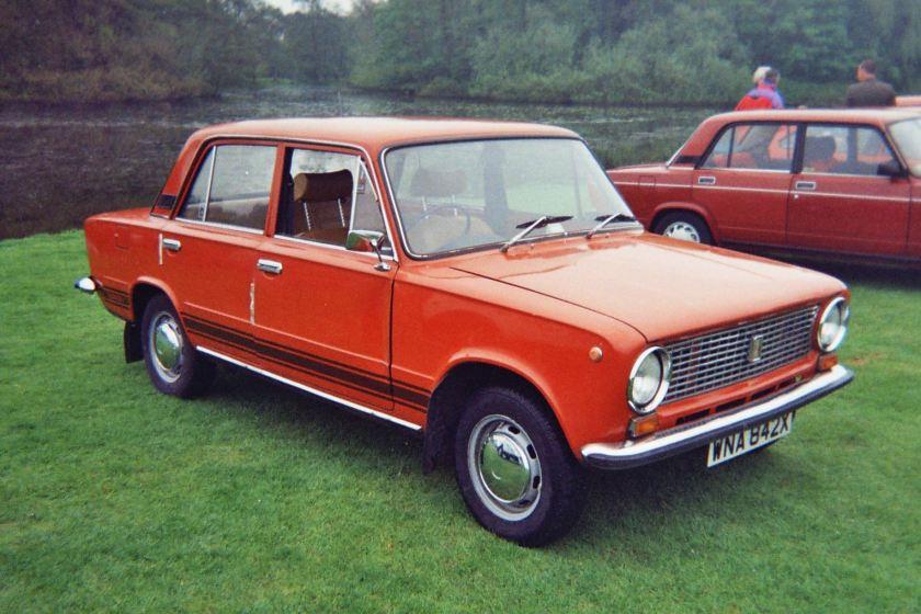 Fiat 124-based Lada 1200