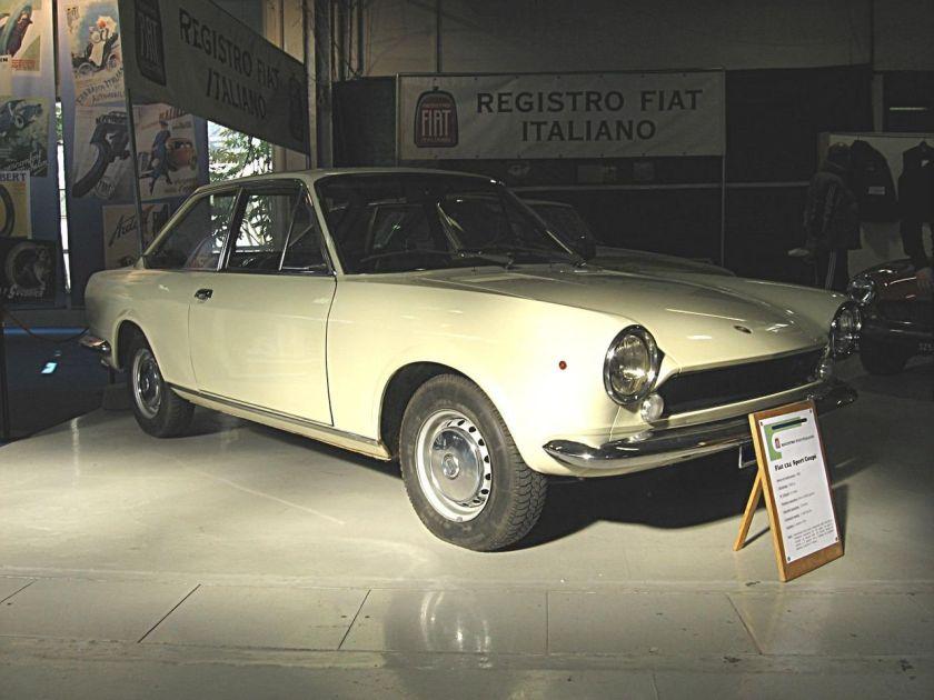 Fiat 124 Sport Coupé AC