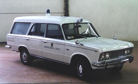 FIAT 125 Ambulance