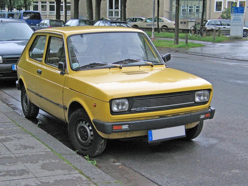 Fiat 127 2 v sst
