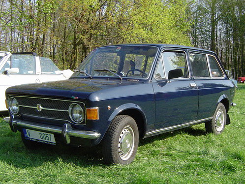 Fiat 128 Familiare (station wagon) 3-door