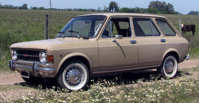 Fiat 128 Rural 5-door, Argentinian production