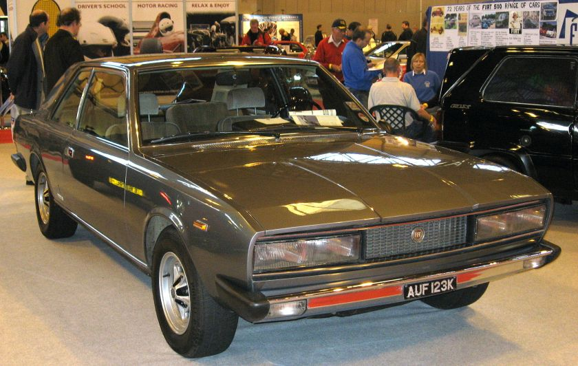 Fiat 130 Coupe (UK model)