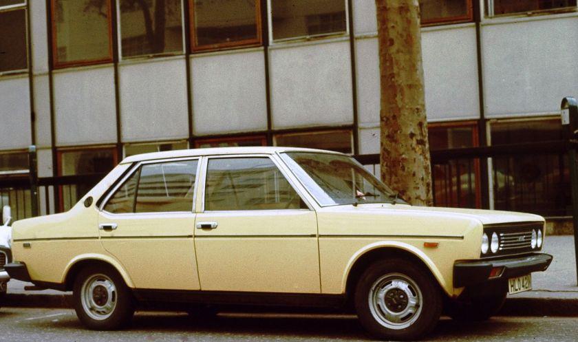 Fiat 131 1st series