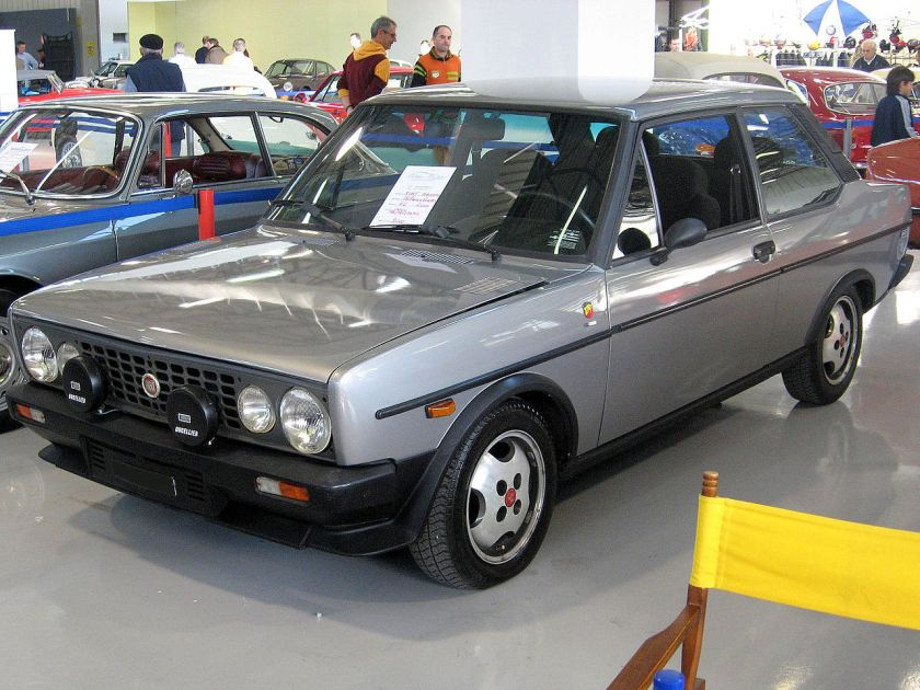 Fiat 131 Volumetrico Abarth