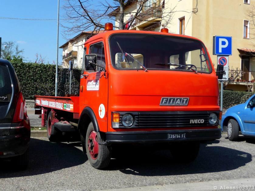 Fiat 40 NC tow truck