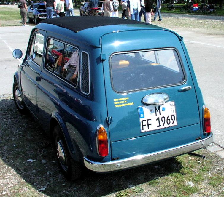 Fiat 500 K Giardiniera