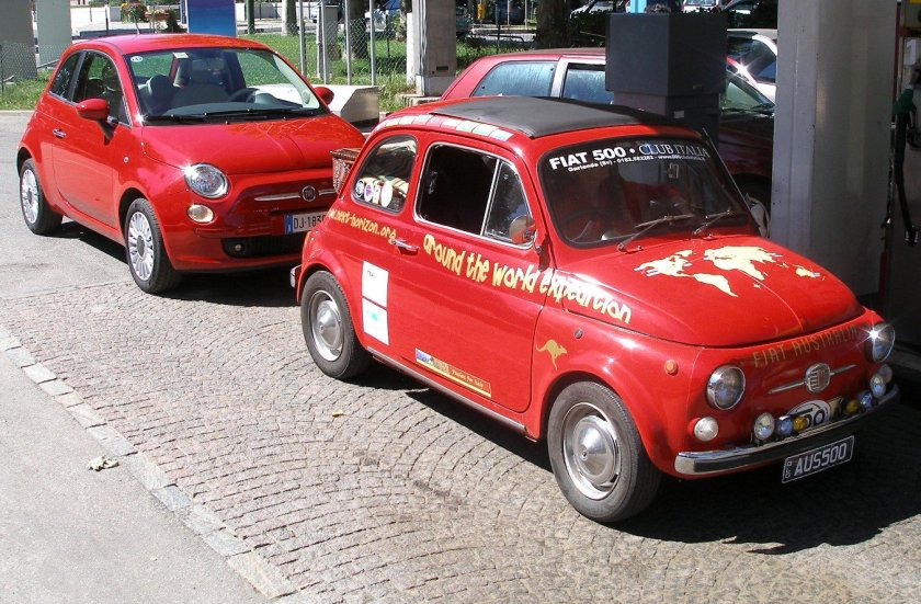 Fiat 500 World Expedition from Australia