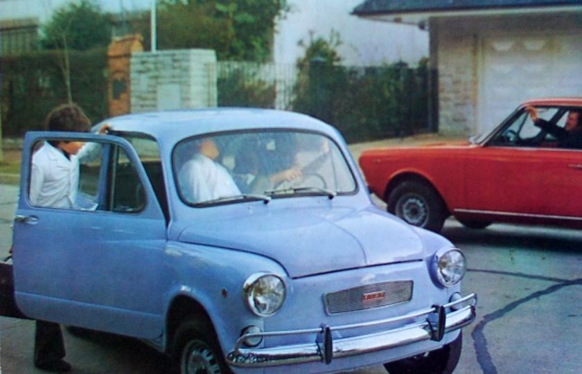 Fiat 600R built in Argentina