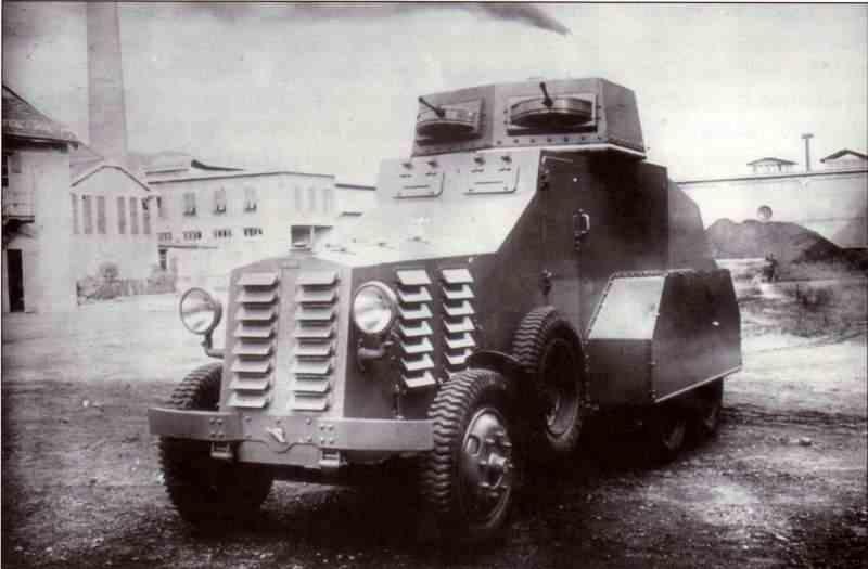 Fiat 611 mitragliatrici