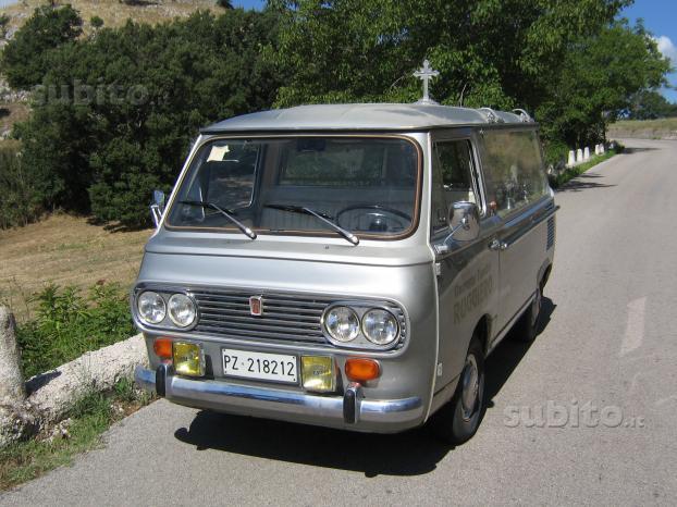 FIAT 850 carro funebre autofunebre