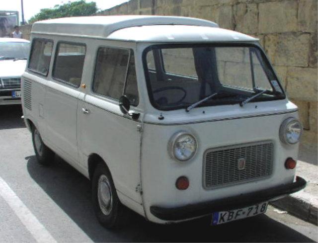 Fiat 850 T Familiare Van